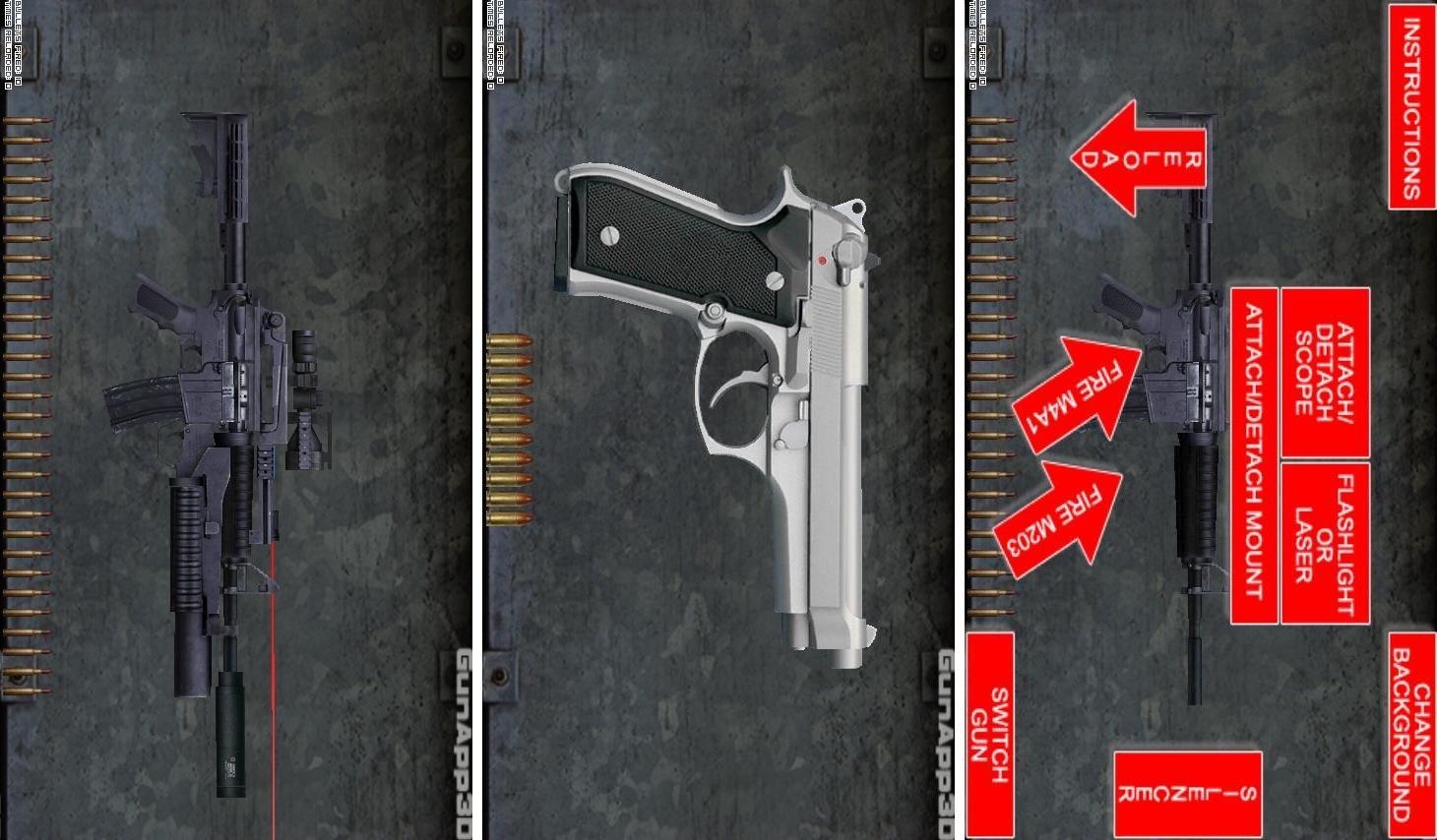 GunApp 3D (The Original)
