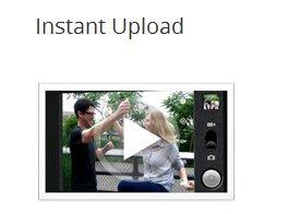 Google  Instant Uploads