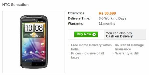 HTC Sensation India Launch
