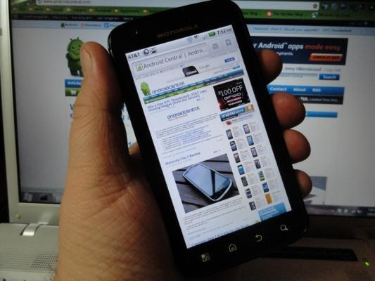 Atrix 4G Android 2.3