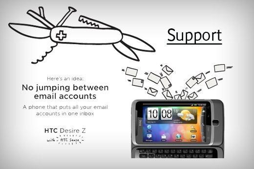 HTC Desire Z Android 2.3 OTA
