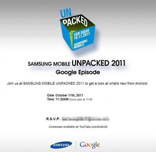 Nexus Prime Google Samsung