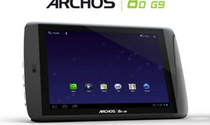 Archos 80 G9 Tablet Available In UK For £199 Only