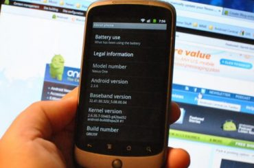 Nexus One Update