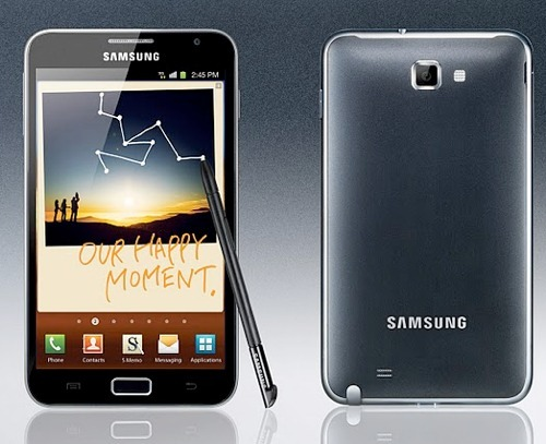 Galaxy Note Video