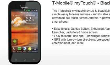 LG myTouch and myTouch Q Specifications and Release Date