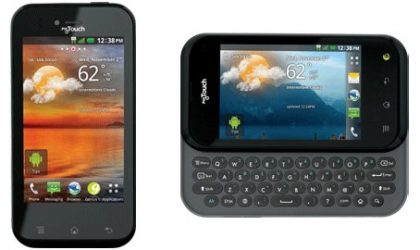 MyTouch & MyTouch Q make their official debut on T-mobile
