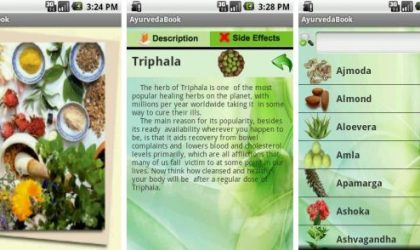 Learn the Ancient Secrets Of 50 Different Herbs with AyurvedaBook Android App