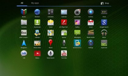 IcedComb Custom Android 3.2 ROM for the Iconia Tab A500 and A501