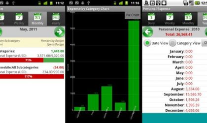 Get Your Expenses Organized With Expense Manager Android App