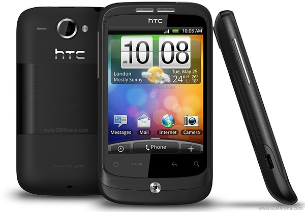 HTC Wildfire Android 4.0