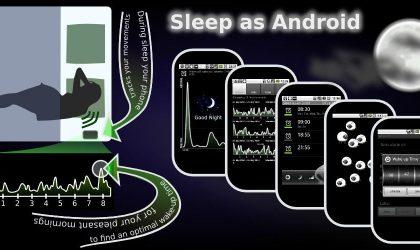 Track your sleep with 'Sleep as Android' App