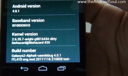 How to Update Galaxy S II to Android 4.0 Ice Cream Sandwich (ICS)