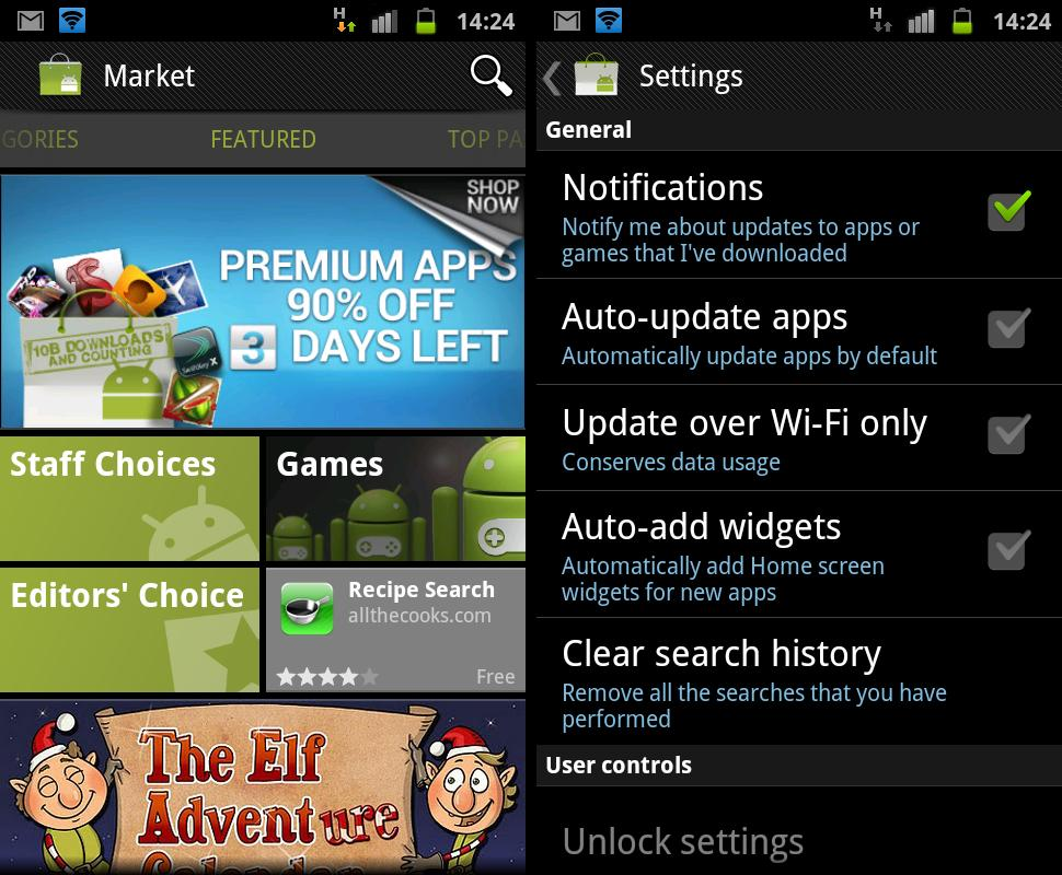 android market updated to v3 4 4 apk file available the android soul