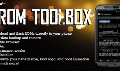 ROM Toolbox – Swiss Army Knife of Root Apps