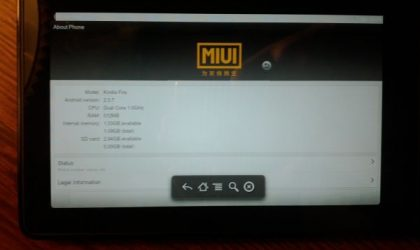 Install MIUI on the Kindle Fire