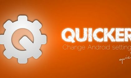 Quicker — Change Android Settings Quickly