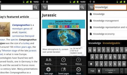 Official Wikipedia App for Android is here
