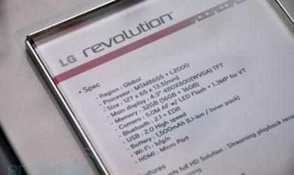 LG Revolution Bestowed with Ice Cream Sandwich Rom. Prayers Answered!