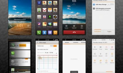 MIUI 4 for Desire HD Available. Runs on Android 4.0.3