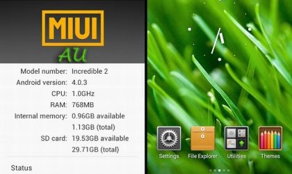 MIUI v4 for the Droid Incredible 2 [Alpha build]