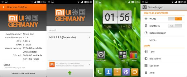 Install MIUI v4 on Nexus One