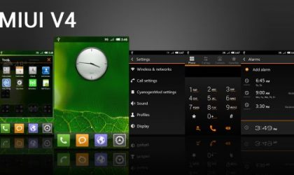 Get the MIUI v4 Touch on Your CM7 Rom with a Theme