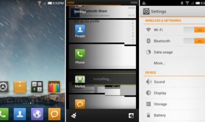 MIUI v4 Ported to HTC myTouch 4G