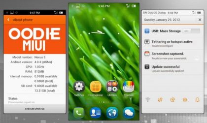 MIUI 4 for Nexus S — Install Guide