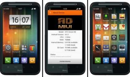 MIUI v4 for Desire HD — RD-MIUI-ics [Unofficial port]