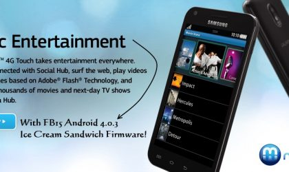 How to Install FB15 Ice Cream Sandwich Firmware on Epic 4G Touch
