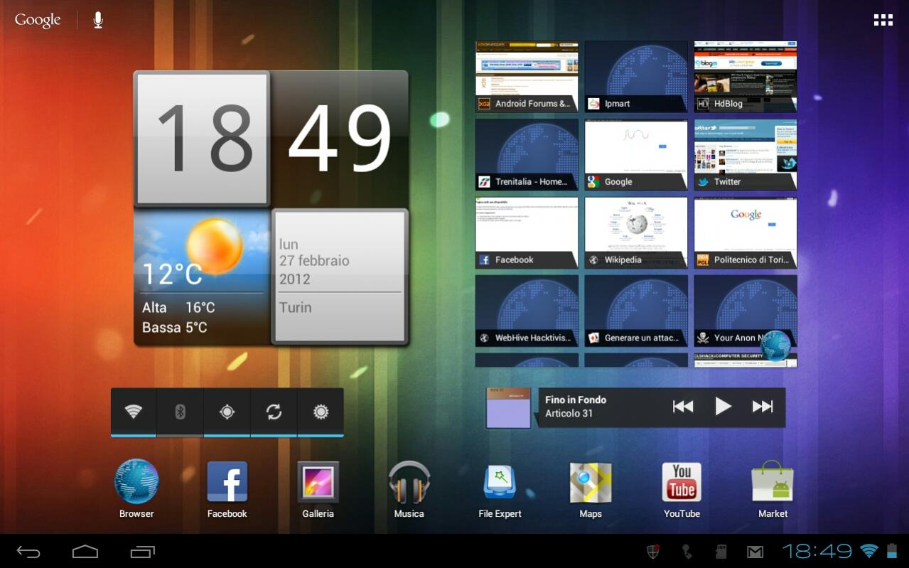 Acer Iconia A500 Ice Cream Sandwich Rom Lightspeed Rom Fast And