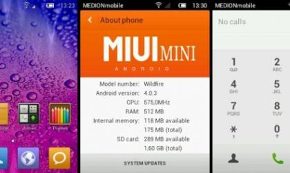 MIUI 4 for HTC Wildfire – Installation Guide