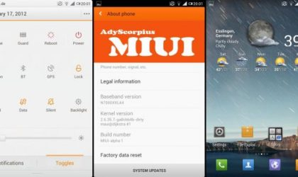 MIUI 4 ported to Galaxy Note. Not a Daily Driver, Though!