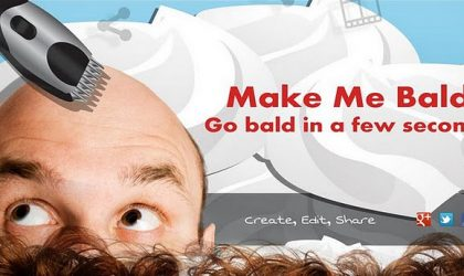 Make Me Bald for Android — Shave Your Head and Go Bald