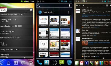 Android Pro Widgets — Get Sense-Like Widgets On Your Android Phone