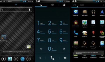 HTC Rezound AOSP Ice Cream Sandwich ROM