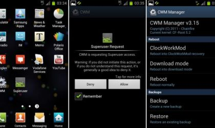 Root XXLPH on Galaxy S2 I9100 using CF-Root Kernel