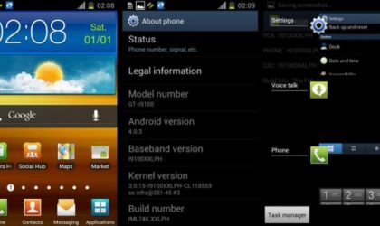 XXLPH: New Galaxy S2 Ice Cream Sandwich Firmware Leaked!