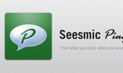 Seesmic Ping — Schedule Posts to Facebook, Twitter & LinkedIn