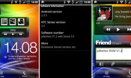 Install Sense 3.5 on HTC Wildfire S using 'JxMatteo' Custom ROM
