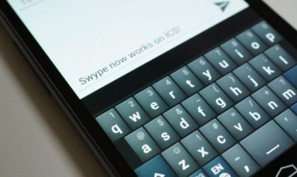 Swype Keyboard gets Official Ice Cream Sandwich Update