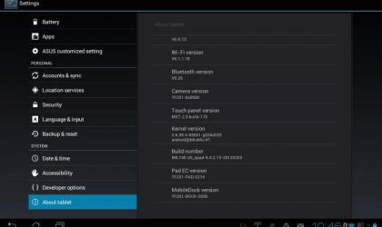 Update Transformer Prime to Ice Cream Sandwich in Europe, Asia and Other Regions with US Firmware 9.4.2.13