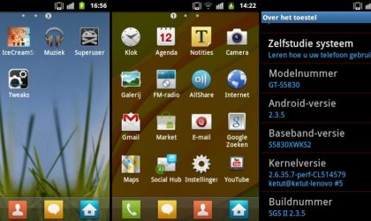 Get Galaxy S2 Looks on Your Galaxy Ace S5830 Using 'sGs II' Custom Rom