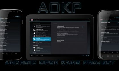 Samsung Vibrant Ice Cream Sandwich Based AOKP ROM — Install Instructions