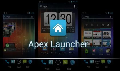 Apex Launcher — Another Home Screen Replacement Tool for Ice Cream Sandwich Roms