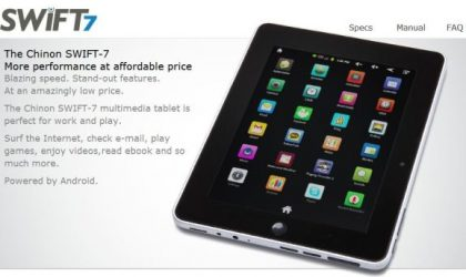 Chinon Swift 7 tablet Unveiled