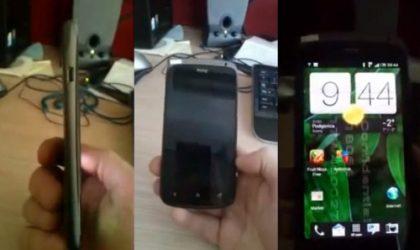 The Ultra-Slim HTC Ville caught on video, has Sense 4.0 over Ice Cream Sandwich