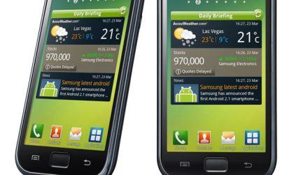XXLPH Ported to Galaxy S, an Official Ice Cream Sandwich Firmware for S2 i9100.