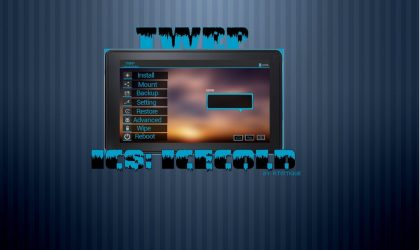 TWRP Recovery Theme for Kindle Fire